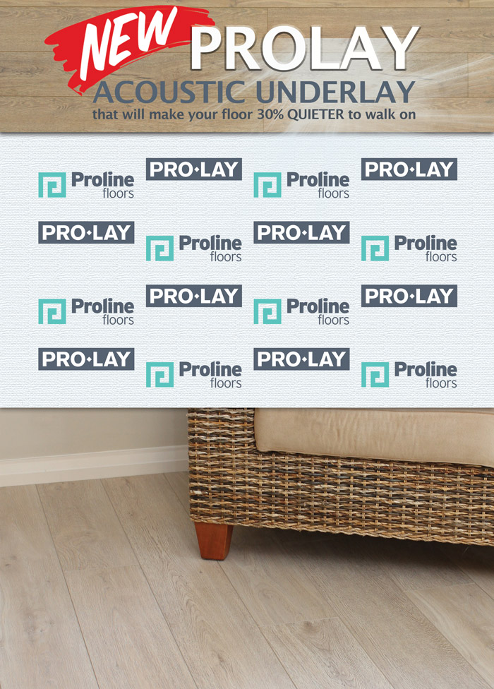 2mm Prolay Acoustic Underlay ad