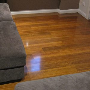 12mm Evolution Gloss Dark Spotted Gum