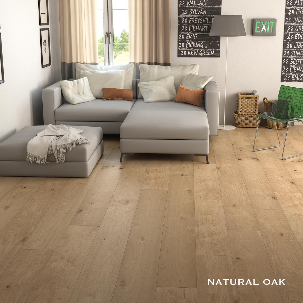 Hermitage natural oak virtual proline floors australia Virtual flooring