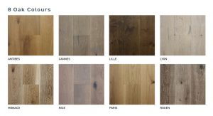 Plantino Oak Swatches