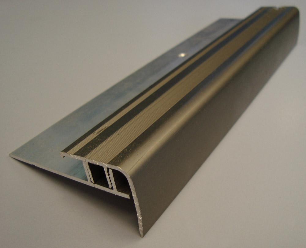 Aluminium Stair Nosing 8 12mm Proline Floors Australia