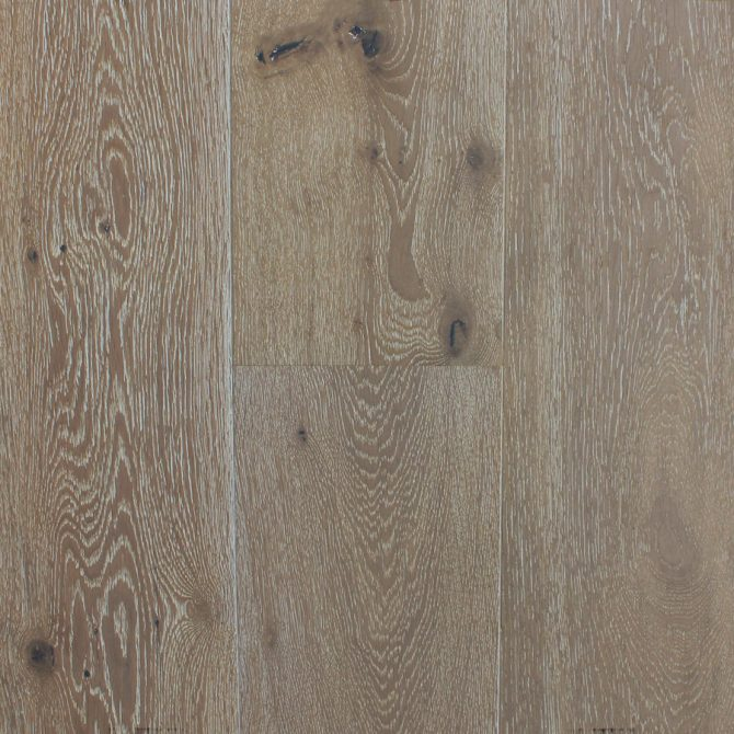 light smoked and limed oak