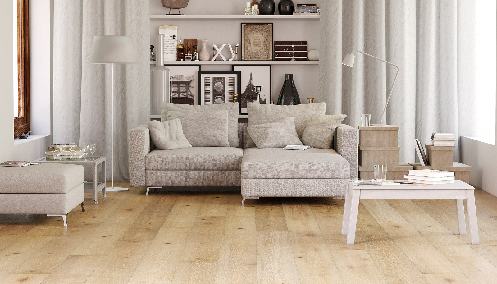 Engineered Wood | The Hermitage | Dark Smoked and Limed