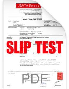 Abode-Prime-Slip-Test-Report