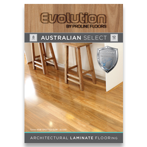 Evolution laminate brochure