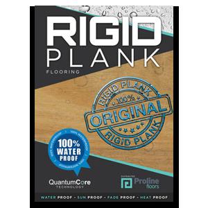 Rigid Plank hybrid flooring brochure
