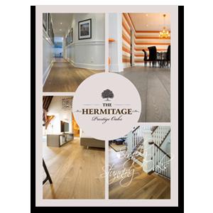 The Hermitage wood flooring brochure