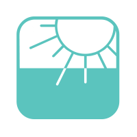 Fade resistant icon