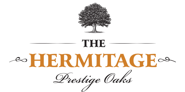 Hermitage prestige Oak logo