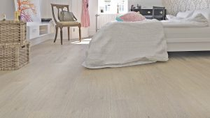 Kensington from Rigid Plank range in bedroom