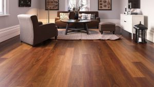 Northern Spotted Gum from Rigid Plank range in living room