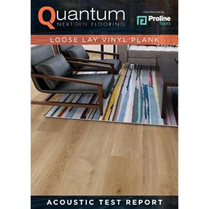 Quantum Acoustic Test