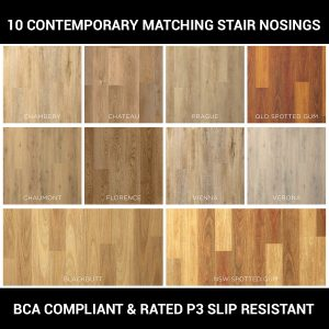 Abode Prime Matching Stair Nosing 10 Colours