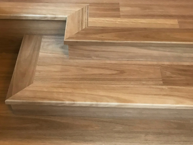 Rigid Plank stairs