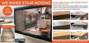 We make stair nosings