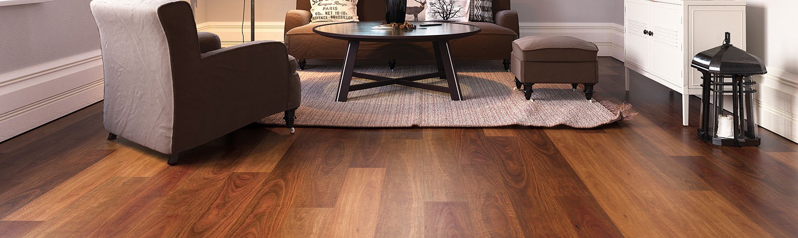 Rigid Plank Northern Spotted Gum Lounge Room